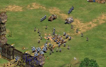 The isometric world of Age of Empires
