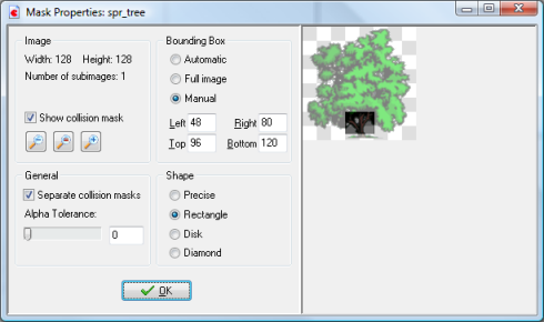 The tree sprite