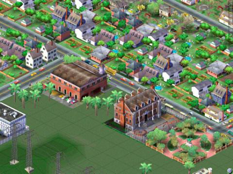SimCity is an isometric game.