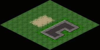 Using an isometric projection