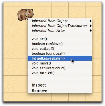 wombat-menu